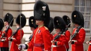 Il cambio della guardia Buckingham Palace