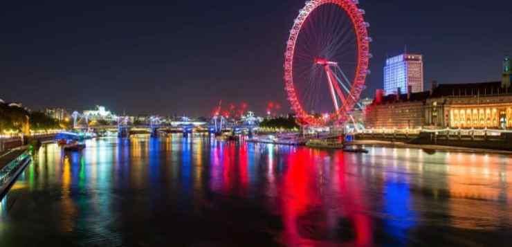 Il London Eye, la ruota panoramica di Londra