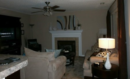 Before Living Room Makeover