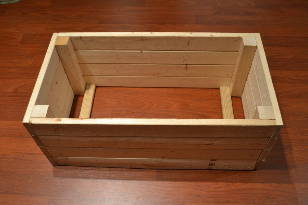 """""""Crate before adding bottom"""""""
