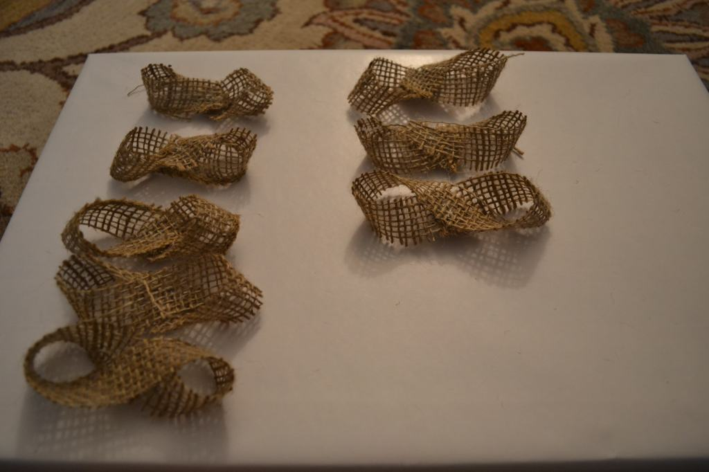 """Looped Burlap Ribbon"""
