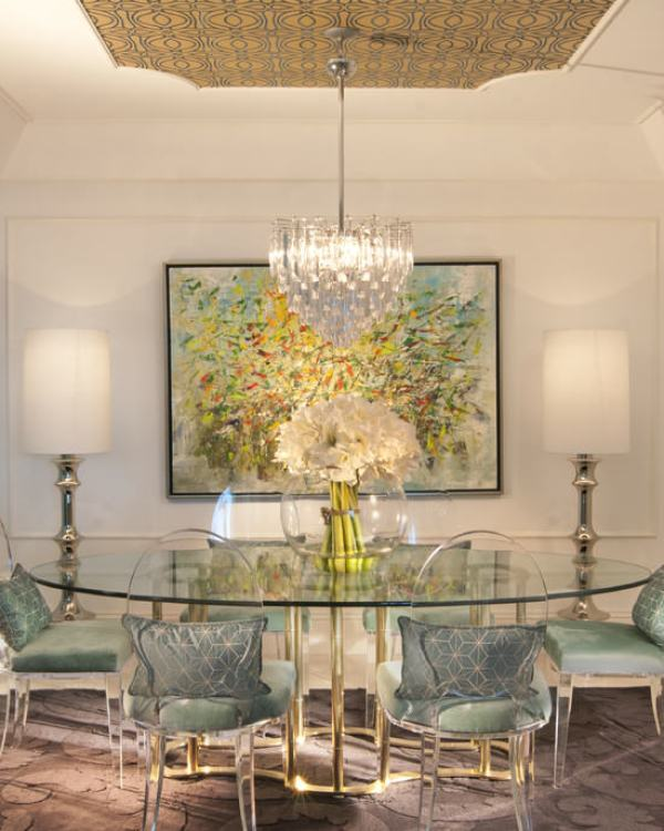 """old hollywood dining room"""