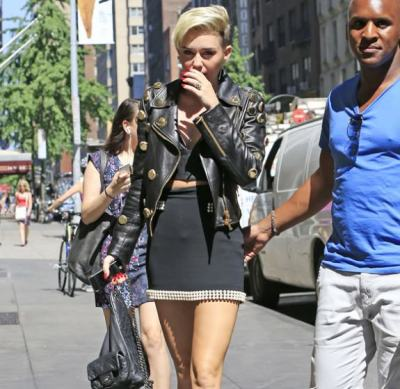 Miley Cyrus Chanel Backpack