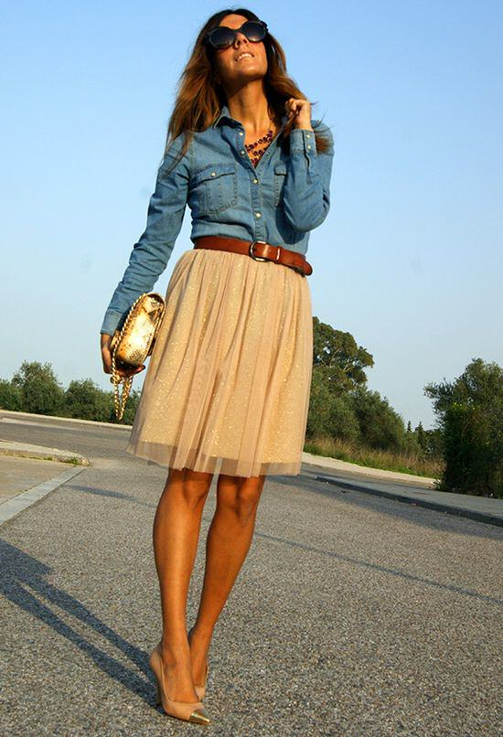 10 Ways to Wear Your Chambray Shirt