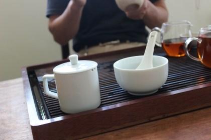Tea competition tea set