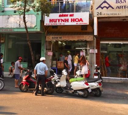 The store: Banh Mi Huyng Hoa