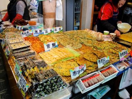 Korea Town: kimchi pancakes