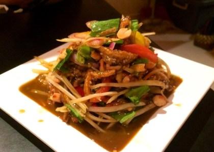 Fermented Shrimp Papaya Salad