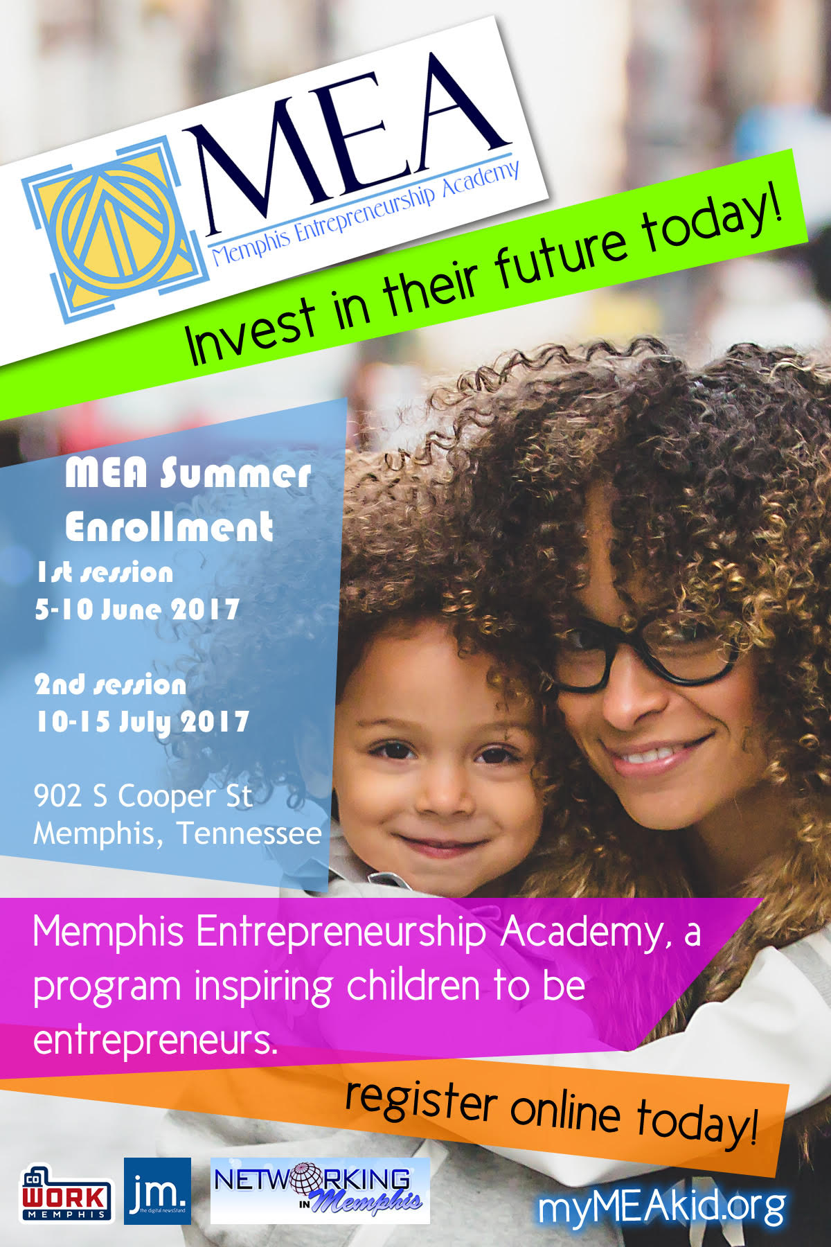 MEA summer flyer 2017