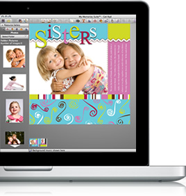 Build beautiful scrapbook pages.