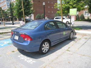 Zip Car Locations in Midtown Atlanta