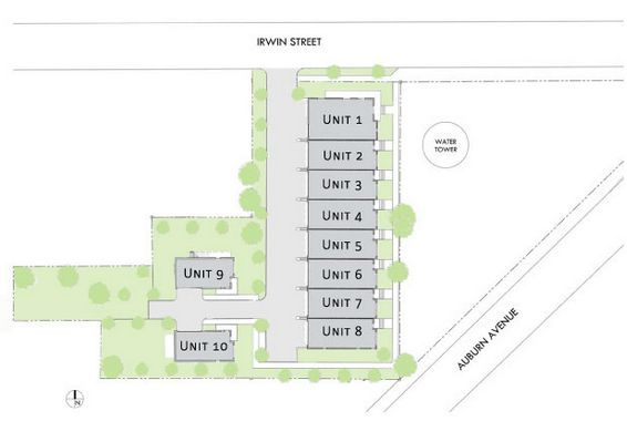 Water Tower Stacks Old Fourth Ward Site Plan