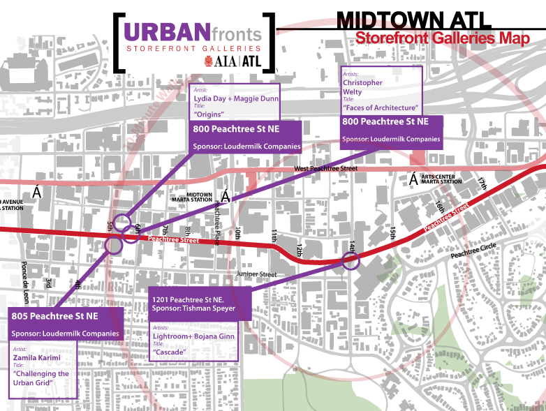 Urban Front Galleries Midtown Atlanta September 27, 2015