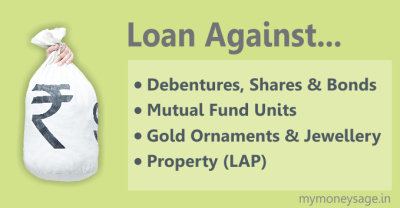 Here is how to avail a Loan against Property (LAP)/Shares & Debentures/ Mutual Funds/Gold Jewellery