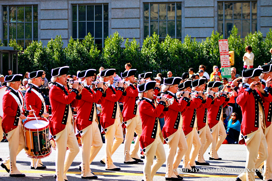 Fife & Drum Corps in Cherry Blossom Festival Parade