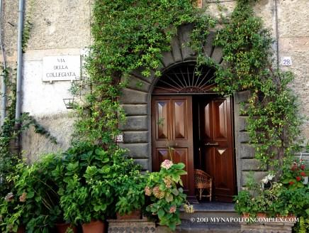 How cute is this front door?!