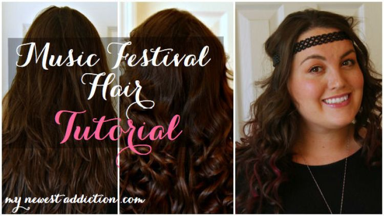 Music Festival Hair Tutorial