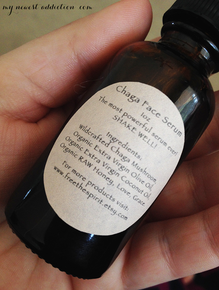 spirit of chaga face serum