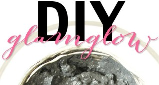 diy glamglow inspired mask slider