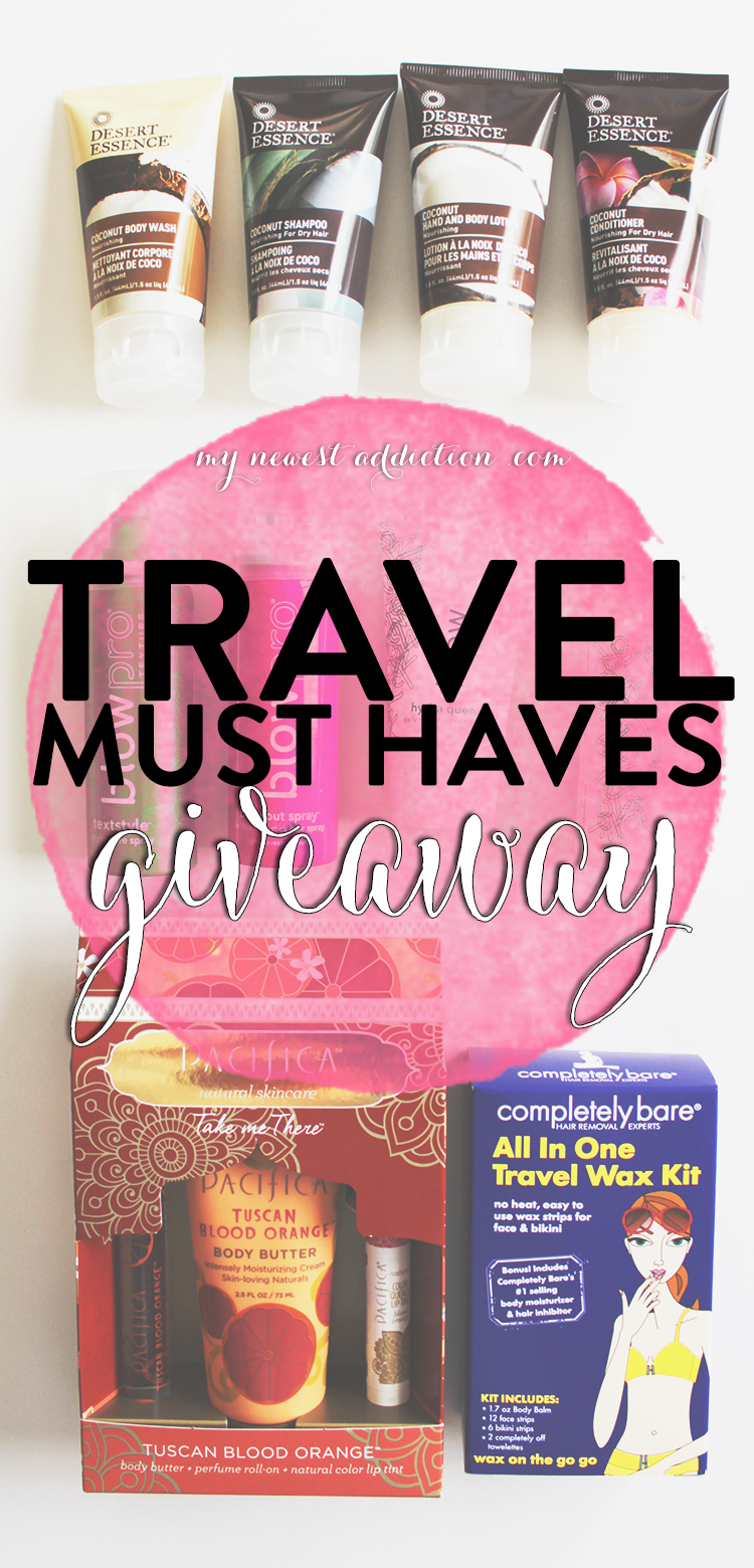 Travel Must Haves Giveaway