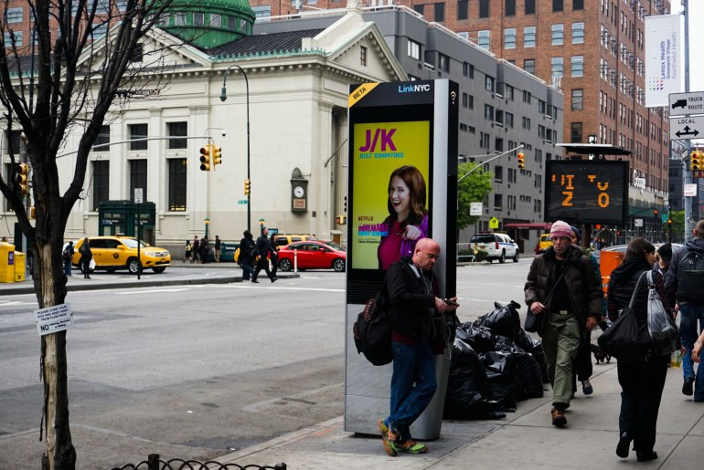LinkNYC Takes Over Old Payphones & Offering Free WiFi & Charging