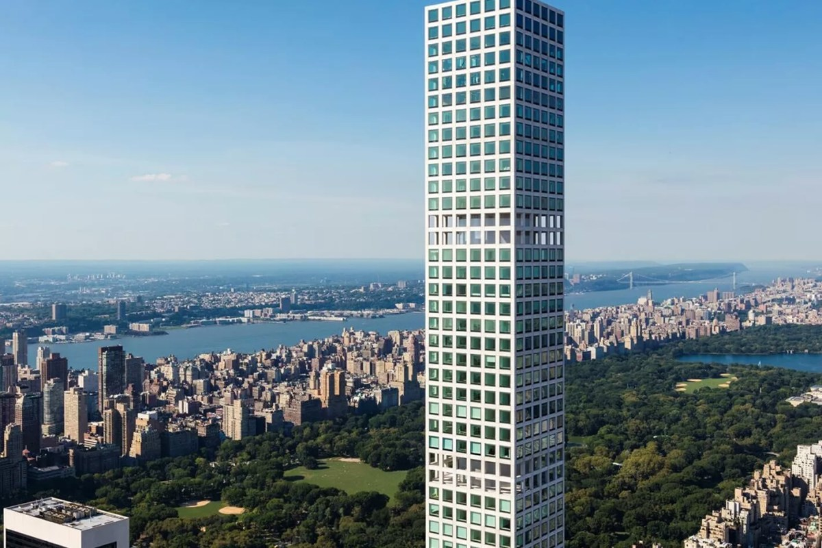 95th Floor Manhattan Penthouse Hits Market for $82 Million