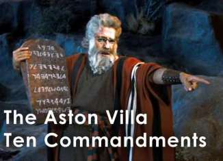 villa ten commandments