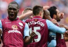 Christian Benteke Wembley goal