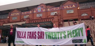 aston villa twentys plenty