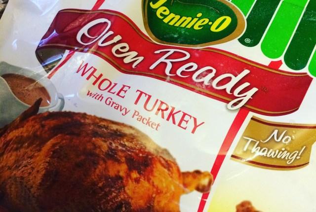#JennieO Oven Ready whole turkey   via MyOtherMoreExcitingSelf.com