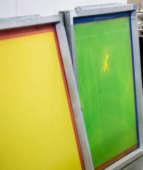 sérigraphie - silkscreen printing