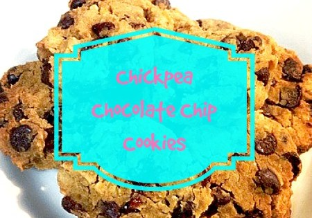 Chickpea Chocolate Chip Cookies - My Pretty Brown