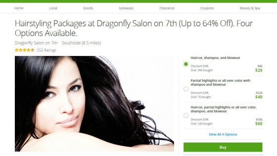 Groupon Savings