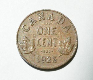 Canada 1925 Penny