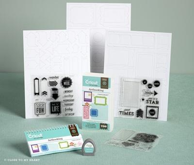 New Cricut Artbooking Collection cartridge- shop at WendyKessler.CTMH.com