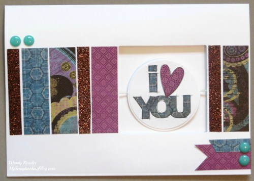 I Love You Spin Card by Wendy Kessler
