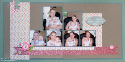 Lollydoodle Layout by Wendy Kessler