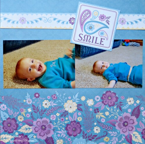 Smile Layout by Wendy Kessler