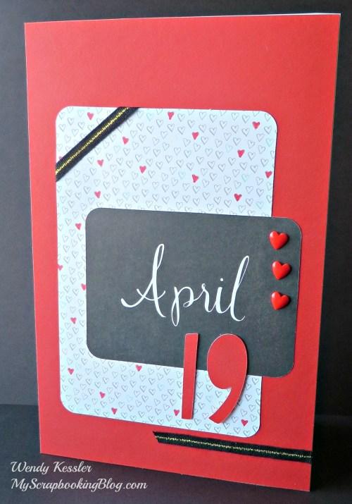April Card by Wendy Kessler
