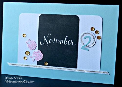 November Card by Wendy Kessler