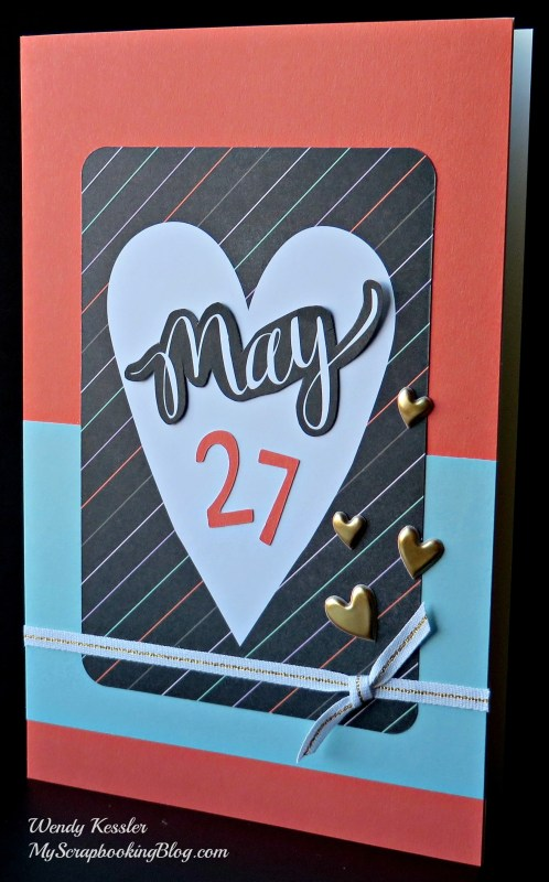 May Card by Wendy Kessler