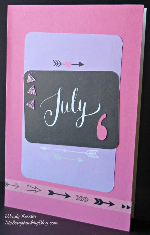 July Card by Wendy Kessler