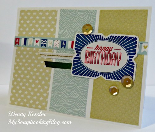 Framed Birthday Card by Wendy Kessler