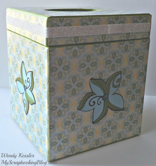 Tinkerbell Kleenex Box by Wendy Kessler