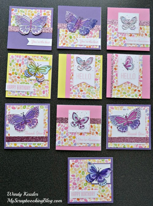 Butterfly Cards by Wendy Kessler