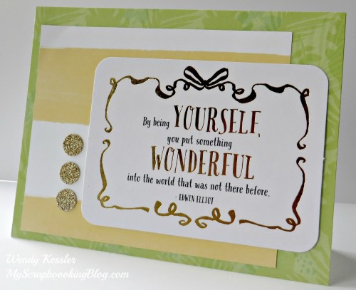 PML Card by Wendy Kessler