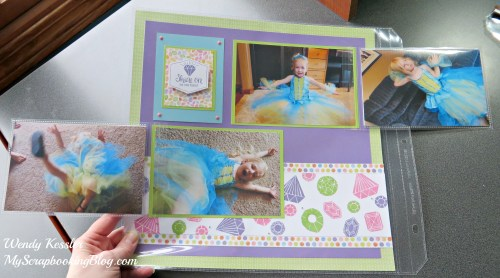 Flip Flap Layout by Wendy Kessler