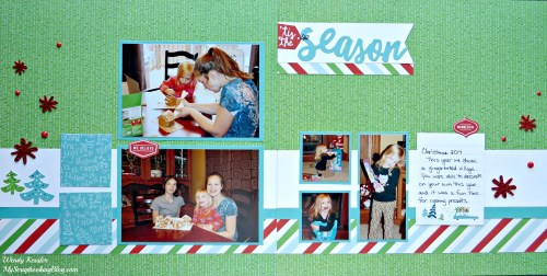 Tis the Season Layout by Wendy Kessler
