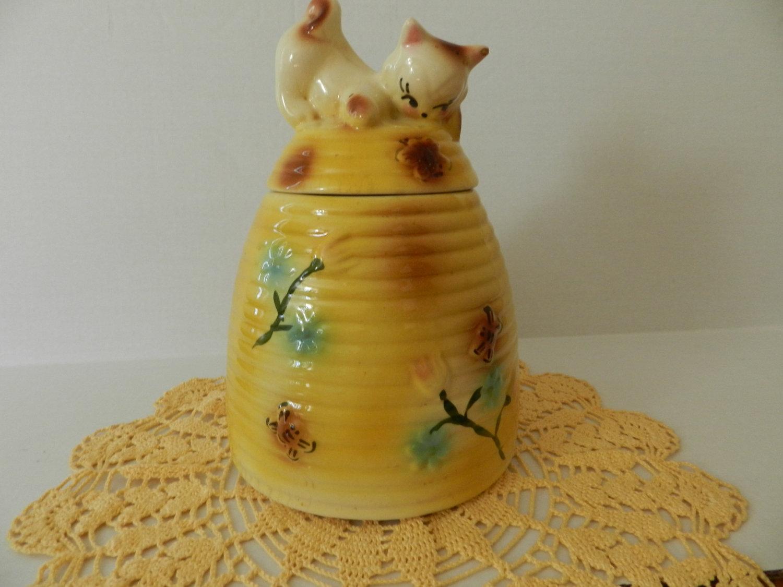 Vintage finds of the week april 30th my so called crafty life - Beehive cookie jar ...