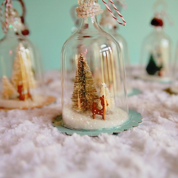 Diy vintage inspired bell jar ornaments my so called crafty life i absolutely solutioingenieria Images
